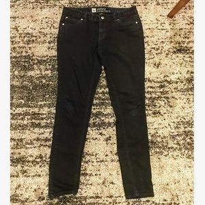 Mossimo black skinny jeans -sz 8R (fit 3)